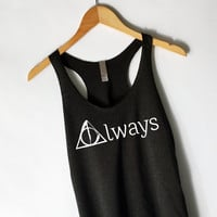 Harry Potter - Always Tank Top in Black