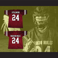 Stiles Stilinski 24 Beacon Hills Lacrosse Jersey Teen Wolf TV Series