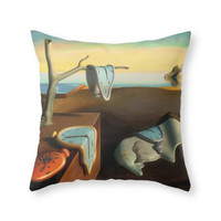 Society6 Persistence Of M Throw Pillow