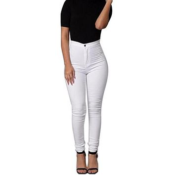 Elle //Skinny High Waist Jeans / Jacob Anthony CEO