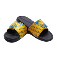 Golden State Warriors NBA Shower Slides Flip Flops Sandals Legacy 2017 Style