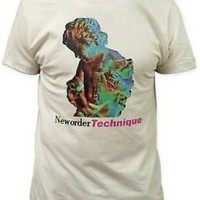 New Order Technique Fitted Men's Tee T-shirt S M L XL 2XL XXL