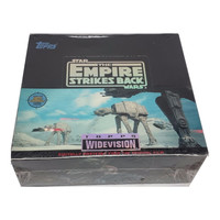 Star Wars The Empire Strikes Back TOPPS Widevision Trading Cards Box - Sealed