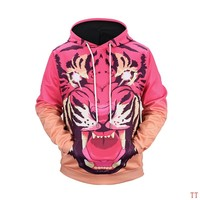 Givenchy Woman Men Fashion 3D Print Top Sweater Pullover Hoodie