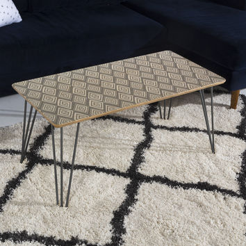 Heather Dutton Diamond In The Rough Grey Coffee Table