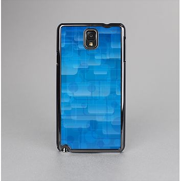 The Vivid Blue Techno Lines Skin-Sert Case for the Samsung Galaxy Note 3