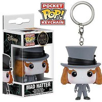Funko Pocket Pop: Alice Through the Looking Glass: Mad Hatter Keychain