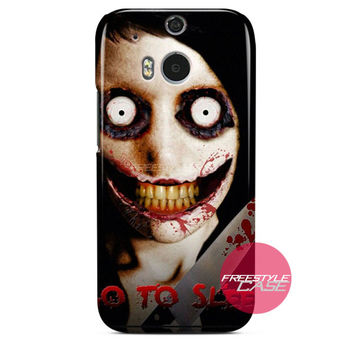 Jeff The Killer Go To Sleep HTC One Case M8 M7 One X Cover