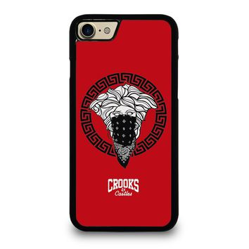 CROOK AND CASTLES BANDANA RED iPhone 7 Case