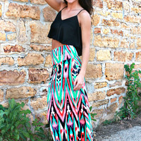 Lady Marmalade Maxi Skirt