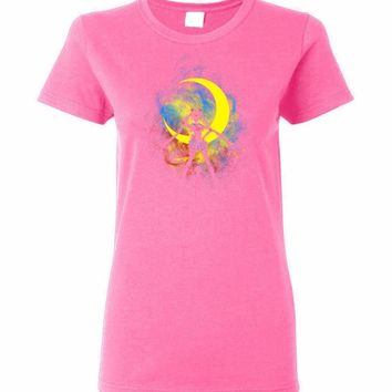 Moon Art Ladies T-Shirt