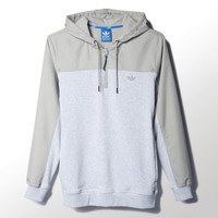 adidas Sport Luxe Pieced Hoodie - Grey | adidas US