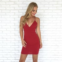 Adore You Dress in Red