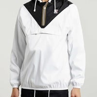 K-WAY White Overhead Jacket - K-Way X Topman - Clothing