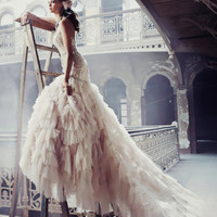 couture, dress, fashion, girl - inspiring picture on Favim.com