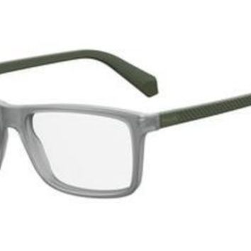 Polaroid - Pld D330 Matte Green Military Eyeglasses / Demo Lenses