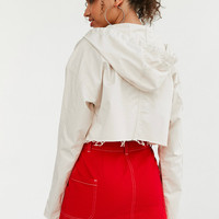 BDG Pixie Cropped Hoodie Jacket | Urban Outfitters