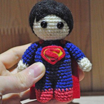 Superman /Superman crochet / Superman amigurumi / Superman toy