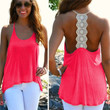 Womens Sexy Loose Halter Ladies Summer Sleeveless Tank Tops Vest T-Shirt Blouse