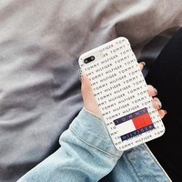 Tommy Hilfiger Case for iPhone 7 8 X XR XSMAX