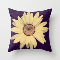 Half Crazy Throw Pillow by RDelean