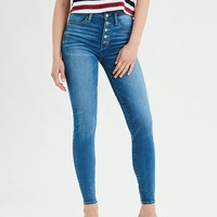 AE Ne(X)t Level Super High-Waisted Jegging, Fresh Bright