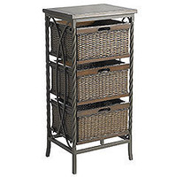Pier 1 Imports - Pier 1 Imports > Catalog > Furniture > Pier1ToGo Product Details - Logan 3-Drawer Storage
