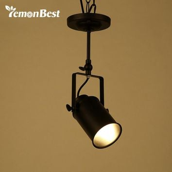 Lemonbest Modern Wall Lamp Loft Wall Light for Dining Room Iron Sconce Industrial Edison Home Lighting E27 Socket (No Bulb)