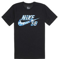 Nike SB Dri-Fit Print Fill T-Shirt - Mens Tee - Black