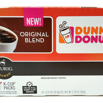 Dunkin' Donuts Coffee for K-cup Pods Original Blend 60 Count