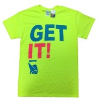 Get It! T-shirt in Neon YellowPurchase