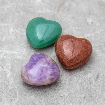 Gemstone Heart - Small