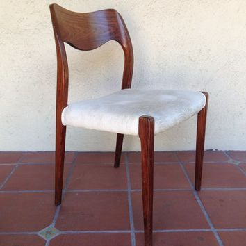 Moller 71 chairs - set of 6 in rosewood