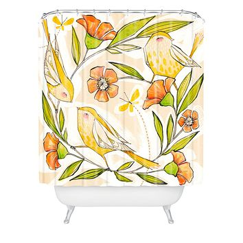 Cori Dantini Happy Family Single Shower Curtain