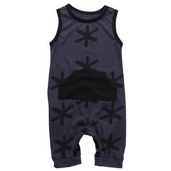Cute Baby Unisex Sleeveless Rompers Baby Girl Boy Cotton Romper  New Arrival Fashion Jumpsuit Hot Summer Outfits Clothes Set