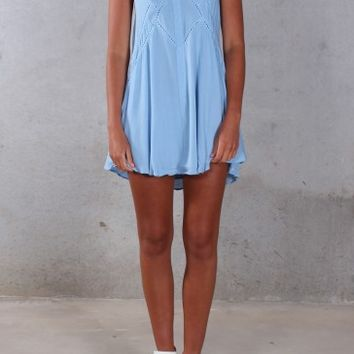 Festival Dreams Dress Blue - Dresses - Shop by Product - Womens