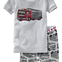 Firetruck PJ Sets for Baby
