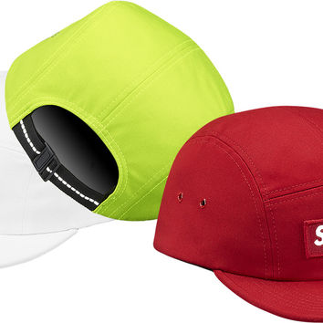 Supreme Reflective Box Logo Camp Cap from Supreme 00f1bdfa2a5
