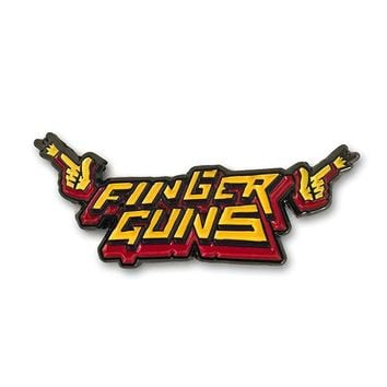 finger guns pin – ForHumanPeoples