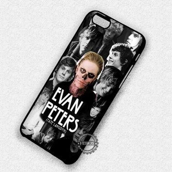Evan Peters Tate Langdon Collage - iPhone 7 6 5 SE Cases & Covers