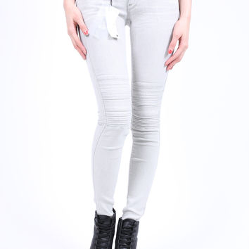 G-Star Raw Lynn Avity Mid Skinny Slander Kit Super Stretch (White Painted)