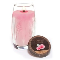 Sugar Flower : Large Crackling LumiWick™ Vase Candle : Yankee Candle