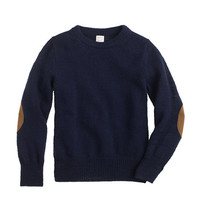 crewcuts Boys Rustic Merino Elbow-Patch Sweater