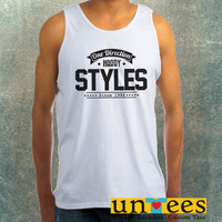 Harry Styles One Direction Clothing Tank Top For Mens