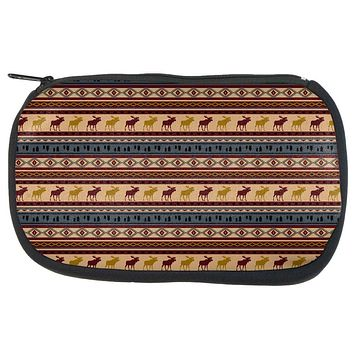Autumn Moose Adirondack Pattern Travel Bag