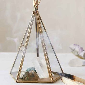 Magical Thinking Tent Glass Display Box- Gold One
