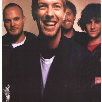 Coldplay Band Poster 25x35