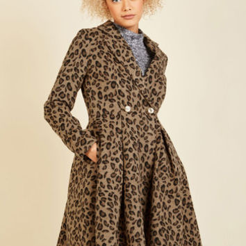 Posh That Thought Coat | Mod Retro Vintage Coats | ModCloth.com