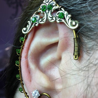 Ear Cuff - Elf Ears - Earrings - Jewelry - Fairy - Ear Cuffs - Wedding - Renaissance - Elf - Elf Costume - Fairy Cosplay - Elven Jewelry