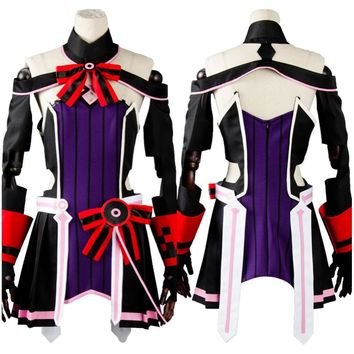 Sword Art Online Japanese Uniform Anime Cosplay Yuna Full Set Carnaval Costume Halloween Christmas Costume Cosplay